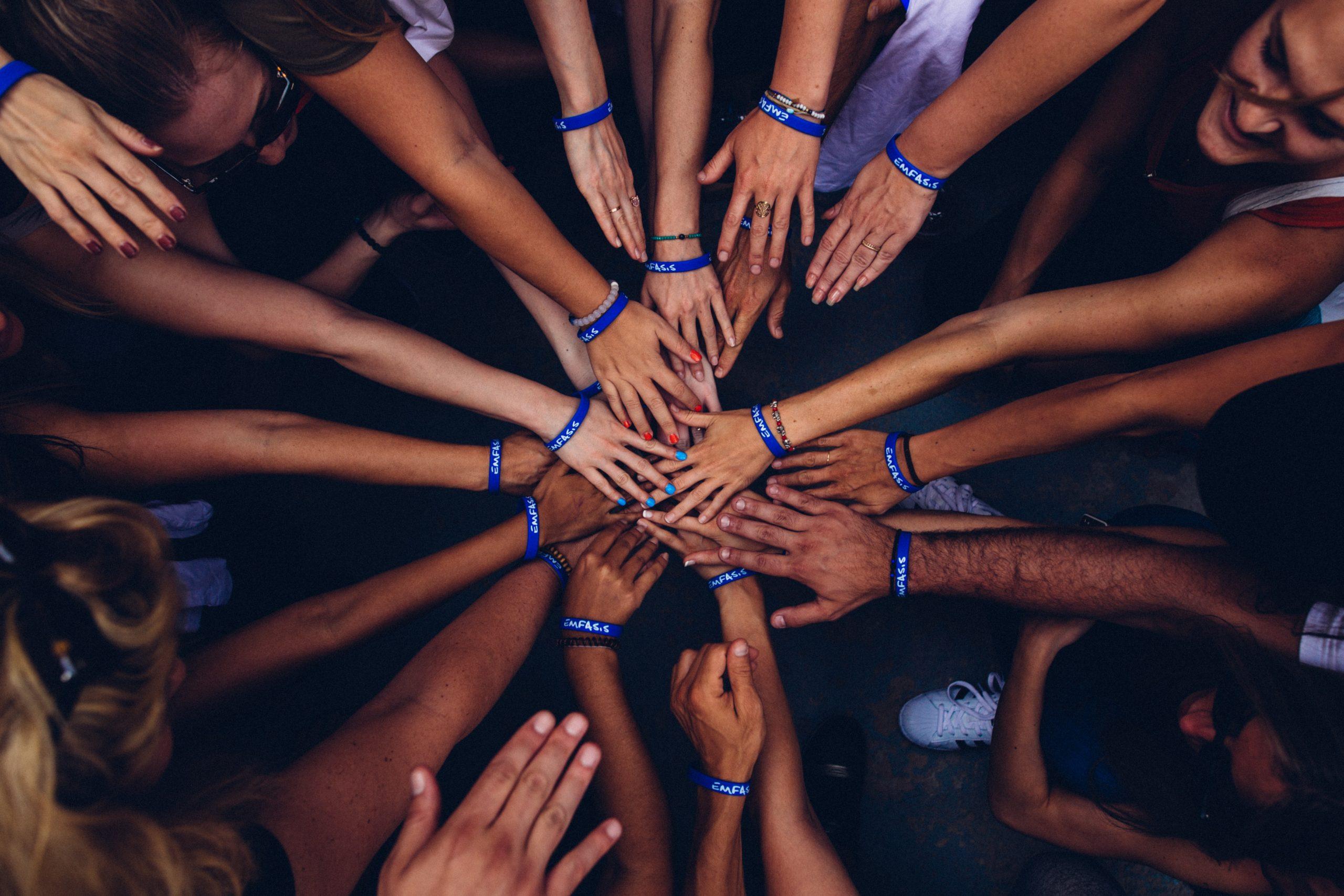 Wir sind Team Blau